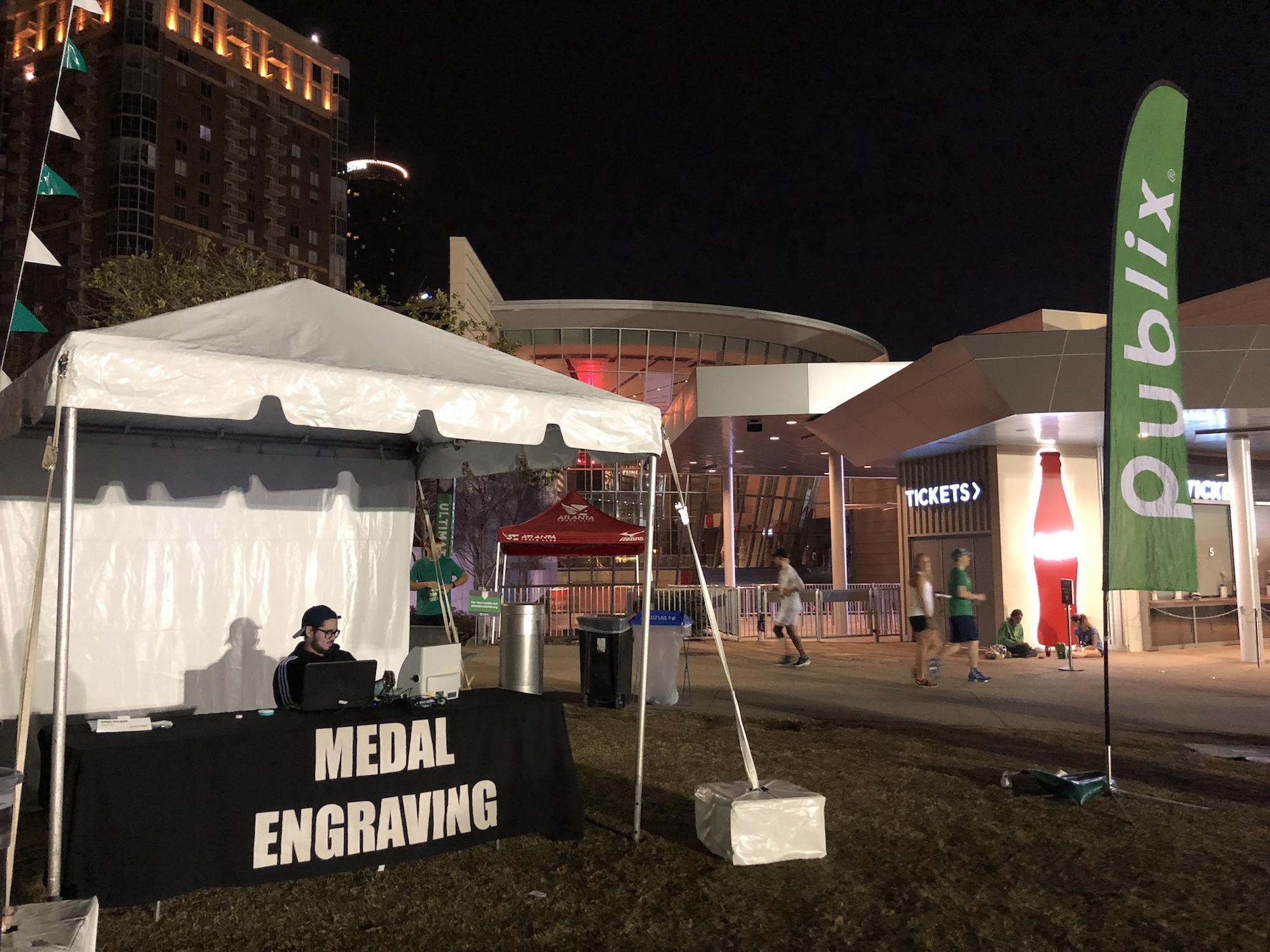 Georgia Marathon Onsite Engraving