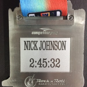 Rock 'n' Roll Marathon Etags