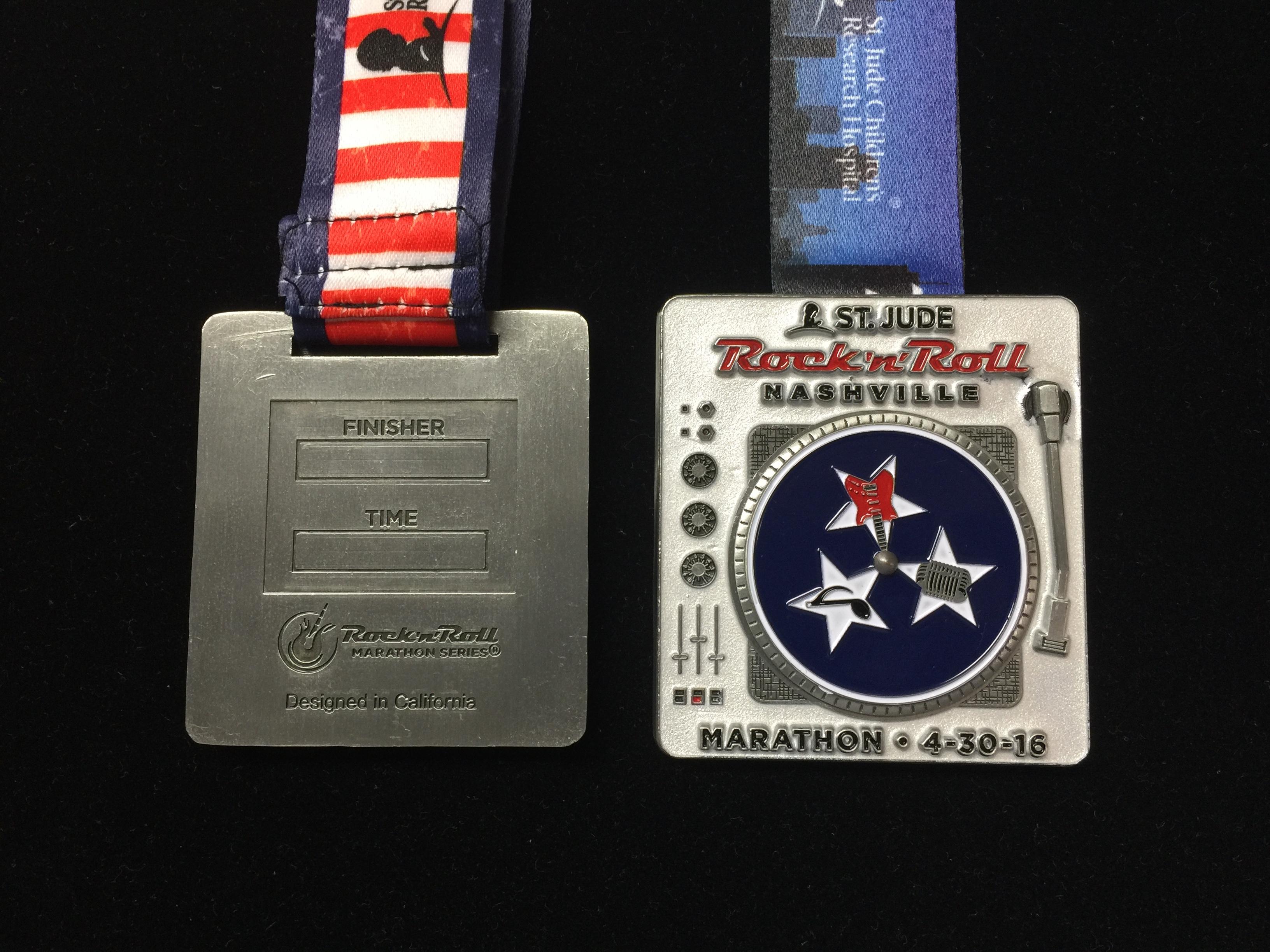 Nashville RNR Medal
