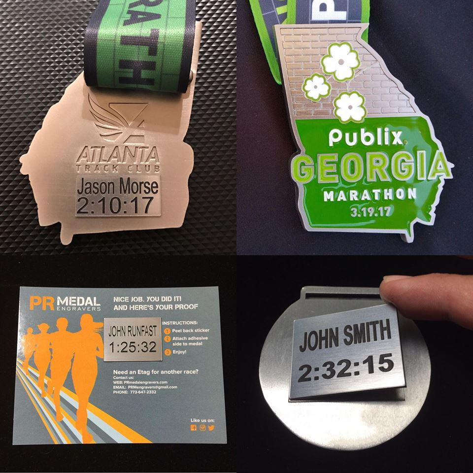 Georgia Marathon ETAGS