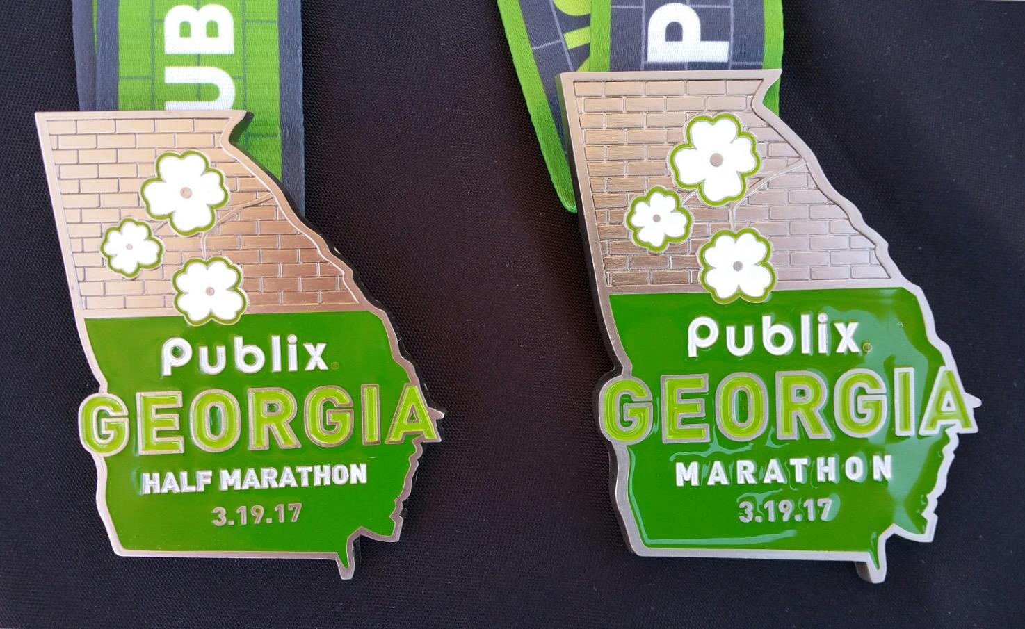 Georgia Marathon front